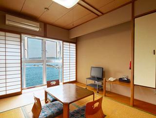 海が見える和室【6畳】バスなし・トイレ付
