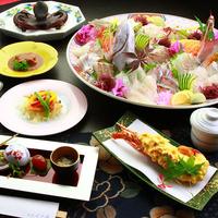 【年末年始限定☆船人-funabito-】美味満載の伊勢海老料理&アワビ&元祖タコステーキ付き