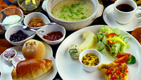 【朝食付】チェッイン21時までOK!手作り朝食で爽やかで温かいひとときを・・・。
