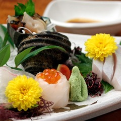 【港町の古民家に時間を忘れて泊まる】大島の新鮮な地魚を生かした創作料理を味わう◆粟屋創作会席プラン◆