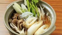 【2食付スタンダードプラン】夕食は秋田名物『きりたんぽ』や旬の食材を使った料理でお腹いっぱい♪