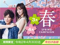 【期間限定】2020 LiVE MAX Spring キャンペーン!!【2食付き】