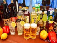 【飲み放題90分プラン】夕食時 アルコール飲み放題プラン♪<ビュッフェ 朝・夕食付>