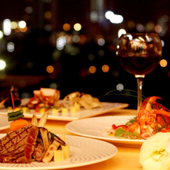 【展望レストランディナー】夜景を眺めながら和食orイタリアンを堪能♪2食付きディナーステイプラン