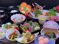 【4・5月限定プラン】料理長おすすめ(2食付)♪「志布志の宝石箱」お魚コース♪