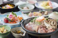 「かごんまおもてなし」【桜島鶏】陶板味噌焼き会席!ファミリーおすすめプラン♪【2食付】