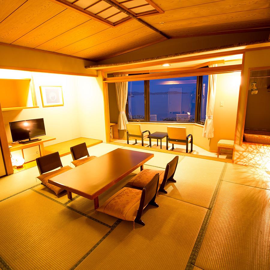 ☆鳴門海峡を望む~和室12.5畳☆喫煙