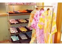 あなたはどんな浴衣がお好みですか? 彩浴衣付きプラン