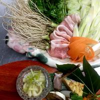 【冬季限定・三関せり鍋プラン(2食付)】ブランドせりの鍋や山菜など地元食材にこだわったお料理♪