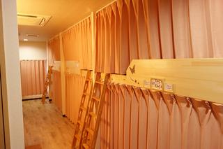 2段ベッド ドミトリースタイル