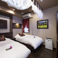 ツインベッドルーム 14平米《92cm幅ベッド2台》喫煙