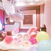 【お誕生日や記念日に】Happyバルーンプレミアムプラン 〜インスタ映えるバルーンデコでサプライズ〜