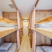 【完全個室】2段ベッド4台/シャワートイレ共同/禁煙