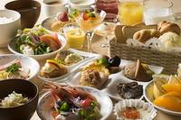 ☆おすすめの朝食ビュッフェ☆【駐車場無料・天然温泉有】