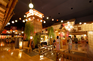【大江戸温泉物語入場券付】温泉とお泊りでご湯っくりプラン