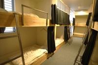 個室 ツイン 二段ベッド シャワー・トイレ共用