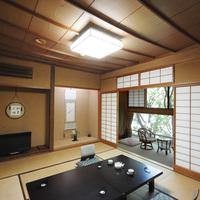 禁煙【標準的なお部屋】和室8〜10畳+広縁<夕個室食>