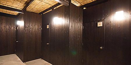 貸切露天の3室とも絶景をお楽しみいただけます。