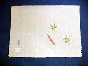 【旬魚食通女子旅プラン】 合掌造りの里で和紙すき体験! 〜木の葉入りマット作り〜