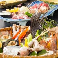【カップル◎シニア◎】掘りごたつ式の個室食事処「仙楽」でいただく!海鮮&和牛焼きプラン♪