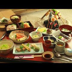 ◎【ホンモノを極める旅◆栃木 】山野の恵みを頂く!素材を活かした囲炉裏料理『古の平家鷹狩料理』