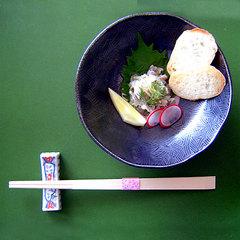 お箸で、和食器でフレンチ☆全10品のディナーコース【現金特価】