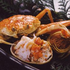 【平日限定☆月〜金、日】おいしい☆かにをお得に♪カニ刺し、鍋、焼き、さ・ら・に☆せこガニ付フルコース