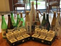 【しっかり日本酒呑み比べ】おいしい地酒が2人で12種!地酒のんべぇプラン