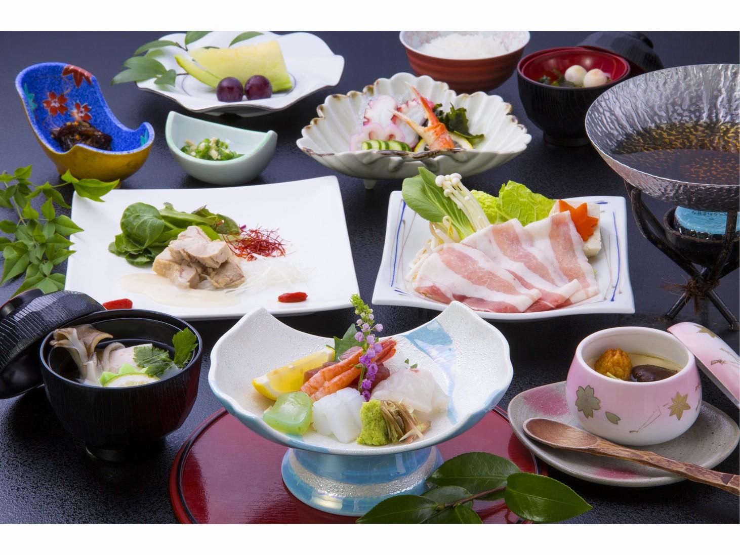 【当館一番人気!】4種類から選べる夕食&朝食付きプラン