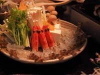 【グレードUPプラン】姫島発!プリッとした食感がたまらない『車えびしゃぶしゃぶ』堪能プラン♪現金特価