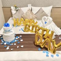 ★誕生日・記念日などサプライズにおすすめ★1日1室限定♪タオルアート de デコレーションプラン♪