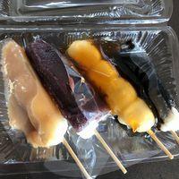 【地域応援】湯の川の老舗和菓子店「銀月」特製串団子のおみやげ付/1泊2食