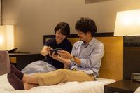 【カップルプラン】イルミネーションが見えるセミダブルルーム(禁煙)/VOD・朝食付