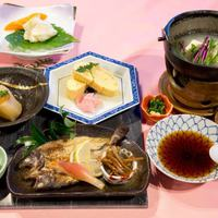 【楽天スーパーSALE】5%OFF!地元の旬の味覚を使った会席料理プラン♪【1泊2食】