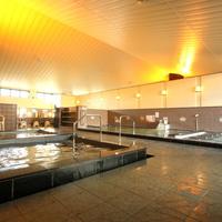 【食浴プラン】食事も温泉も楽しみたい方に♪ 天然温泉大浴場・WiFi・駐車場 無料(朝食+夕食付)