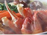 ◆越前蟹◆【超人気】アツアツ越前蟹1杯&刺・焼・鍋に舟盛付き