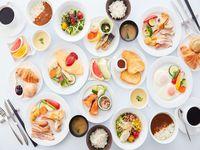 """【2食付き】【アルエット】季節が巡る楽しさを味わうディナーバイキング""""えびなの台所""""×海老名の朝食"""