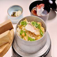 【夕食付き】日本料理「四季」限定メニュー『季節の釜飯御膳』