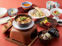 【2食付き】日本料理「四季」限定メニュー『松茸釜飯御膳』×『海老名の朝食』