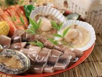 *☆*【全日程同料金】*☆*アワビ&和牛や舟盛に丹後のバラ寿司も★美味しさ満載♪海鮮陶板焼きDX