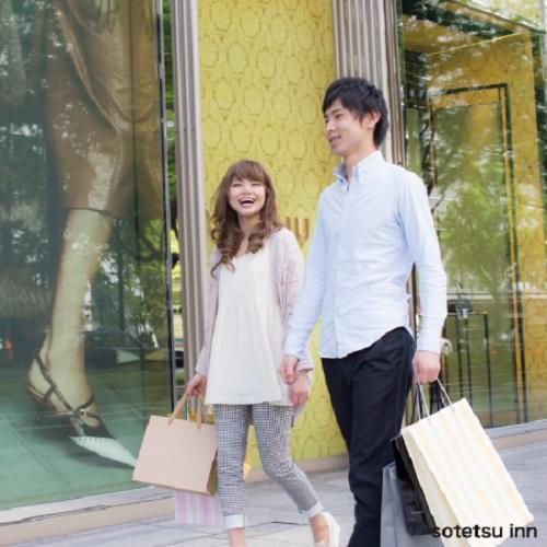 【直前】ロングステイとくとくカップル大阪ステイプラン<食事なし>