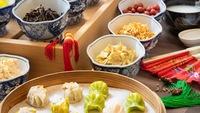 【スタンダードプラン】OSAKAキッチンの和洋中朝食ビュッフェ付きプラン