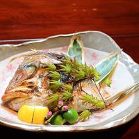 記念日にもおすすめ〜鯛のお頭塩焼き付プラン