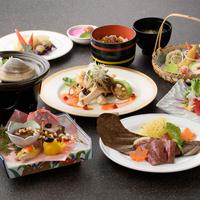 陶芸体験付き〜いばらき満喫プラン〜常陸牛ステーキなど県産品をふんだんに用いたコース