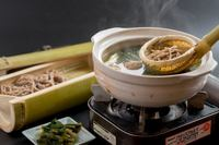 信州発祥とうじ蕎麦コース。