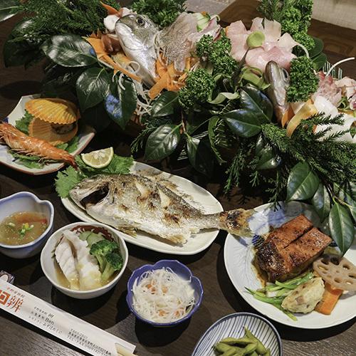 ★舟盛り確約★獲れたてのお刺身や新鮮な天草料理を堪能!食いしん坊さんいらっしゃい♪