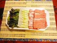 【ファミリー】※「現金特価」 お部屋食無料♪甘味がたっぷり豚しゃぶコース
