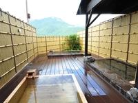 露天・客室・テラスから由布岳を望む(夕食付き)プラン現金特価