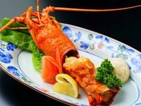 【伊勢海老を三種類のお料理にて♪】新鮮なイカ活き造りに伊勢海老ご堪能プラン