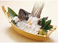 【当館一番人気の活魚】「活黒そい」の姿造里つき黄金の湯プラン 南三陸産黒そいを味わう1泊2食プラン